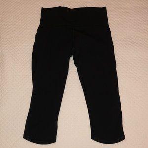 Lululemon Crop Legging Black Size 8